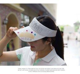 Wholesale-Free Shipping New Unisex Men Women Summer Sun Visor Sports Tennis Golf Pub Fancy Hat Badminton Cap