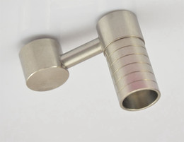 new come titanium domeless nail new honey buckets titanium nail glass nail glass bong 2 in1 titanium nail oil rig
