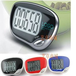 Wholesale big display LCD pedometer Step Counter Fitness necessary tools novelty gifts for girls