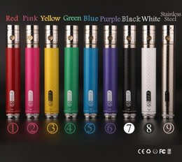 Torsion ii à vendre-New 2200mah GS EGO II ego batterie Twist ego batterie vv 3.3V-4.8V e batterie de cigarette / 510 fil GS EGO II batterie Livraison gratuite