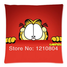 Wholesale Animated TV series Garfield and Friends Custom Zippered Pillow Cases x18 Twin sides