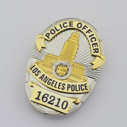 Wholesale 16210 stereo combination structure of American Losangeles badge badge number LAPD