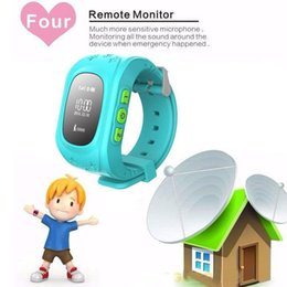Wholesale Advanced Wristwatch Smartwatch Children fashion smartwatch with GPS Tracker SIM slot Remote Monitor Double Locate SOS