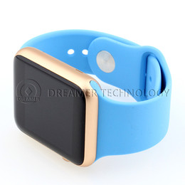 Wholesale Goophone Smart Watch MTK2502C Mowatch inch IPS Screen mAh Battery Heart Rate Tester Sleep Tester An ti Lost for Android Smartphone