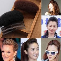 Hot Sale 2 Color Women Fashion Black Brown Hair Styling Hairstyle Braider Comb Clip Stick Bun Maker Braid Tool Hair Accessories