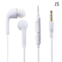 Handsfree Earphone Headset with MIC and Volume Control headphone for Samsung Galaxy S4 SIV i9500 with retail box Quality A+++
