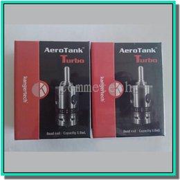 Wholesale 100 Original superia kanger aerotank turbo atomizer stainless steel tank aerotank turbo with new airflow control valve for e cigarette