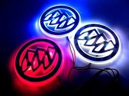 Wholesale Buick LED Logo Light Car Badge Blue Red White D Auto Sticker Light Rear Emblem Lamp Waterproof Anti Dust Size CM Available