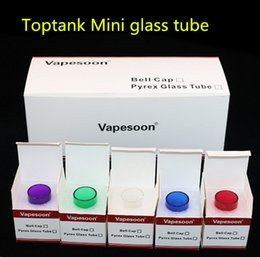 Original Vapesoon Replacement Pyrex Glass Tube for Kanger Toptank Mini Tank Atomizer Kanger Topbox Mini Subvod Mega TC Starter Kits