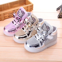 Wholesale 2015 autumn models of child sports shoes Boys Girls Casual shoes Princess shoes baby shoes mesh shoes flash