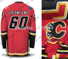 Wholesale Bargain price Markus Granlund Jersey Red White Alternate M Granlund Calgary Flames Hockey Jersey Hot Selling