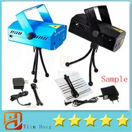Sampel Holiday Sale lot Blue Mini Laser Stage Lighting 150mW Mini Green&Red LED Laser DJ Party Stage Light Black Disco Dance Floor Lights