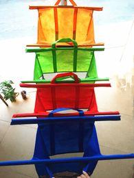 Wholesale Large Size in1 Shopping Grocery Bag For Supermarket Trolleys Carrier Bag Shopping Bag Reusable Trolleys Folding Shopping Bag DHL Free