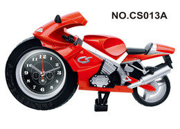 Wholesale Motorcycle alarm clock Cool clock fashion and personality Fashionable household gifts Delicate clock