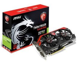 Wholesale-Free shipping MSI GTX 750 GAMING 1G 1085MHz-1163MHz 5010MHZ 1GB 128bit GDDR5 PCI-E graphic card