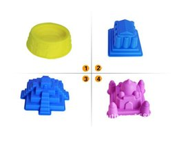 Wholesale play sand swimming beach toys children play in the sand mold kit combination tool