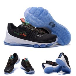 Wholesale With Shoes Box High Quality Kevin Durant KD VIII BHM Black History Month Men s Basketball Sport Sneakers Trainers Shoes
