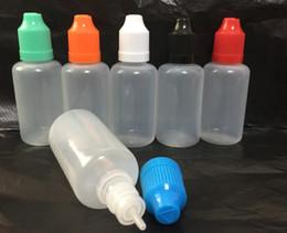 Descuento el envío más barato El más barato PE PET aguja botella de 5 ml 10 ml 15 ml 20 ml 30 ml 50 ml botellín de plástico Liquid E Botella Botella del unicornio del envío de DHL