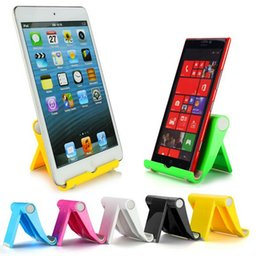 Wholesale Adjustable Angle Tablet Mobile Phone Stand Holder for iPad iPhone Tablets