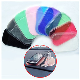 Wholesale Silica Gel 5g - Silica Gel Magic Car Anti-Slip Sticky Pad Mat Non Slip for PDA Mp3 MP5 GPS iphone 5 5G 4 4S 3GS ipod Samsung HTC Nokia free shipping