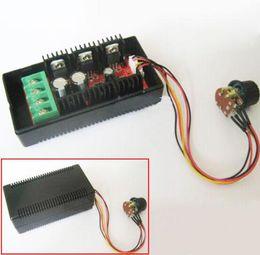 2017 extensión del controlador Control de la velocidad del motor de CC Controlador de PWM HHO RC con la cuerda de extensión 10-50V 40A 2000W extensión del controlador promoción