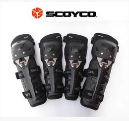 Wholesale NEW sales Motorcycle ATV Racing Protective Gear Knee Protector Shin Elbow Body Pads Knee Guards Armour SCOYCO K11H11