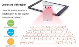Wholesale Hottest selling virtual laser keyboard with mouse bluetooth speaker for laptop tablet pc computer via usb connection
