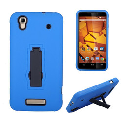 Hot sale New Arrival Heavy Duty With Kickstand Shockproof Cell Phone Case TPU+PC For ZTE N9521 2 in 1 case