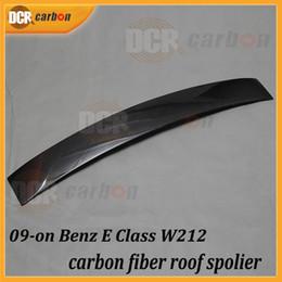 Wholesale Mercedes Benz W212 grade E200 silver style E260 E300 E63 E carbon fiber roof spoiler