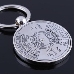 Wholesale Compass keychain car key ring manufacturers creative small gifts Auto Parts calendar