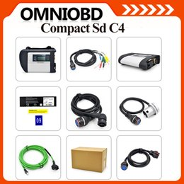 Wholesale Best Quality SD Connect C4 Star Compact C4 with WIFI Professional Multi languages Diagnostic Tool DHL