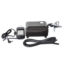 Wholesale High quality airbrush compressor kit portable airbrush make up speeds adjustable tattoo airbrush for nail and cake