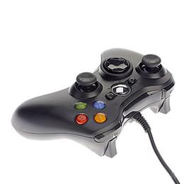 Xbox 360 Gamepad Noir PC USB XBOX360 Joypad Joystick XBOX360 Accessoire pour ordinateur portable PC pour la livraison gratuite joystick xbox deals à partir de joystick xbox fournisseurs