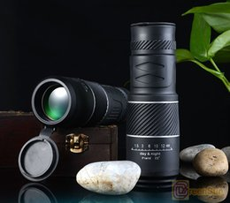 New high-power high-definition Low light night vision monocular telescope KT non-infrared concert military binoculars 30X52 with retail box