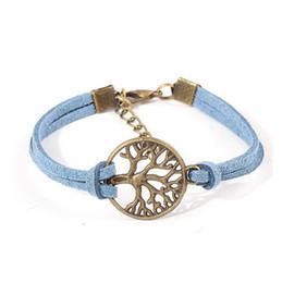 Promotion pendentifs en argent 000pcs Livraison gratuite! Bracelet nouvel arbre de souhait, pendentif argent antique arbre souhaitent - Bracelet en cuir - Meilleur cadeau choisi, arbre de vie