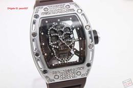 Luxury Bran Transparent Brown Rubber Belt Womens Stainless Pointer Watch Womens Sports Wrist Watchesver