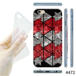 Wholesale New fashion Case Mobile Phone Shell Rubber Silicone Skin Cover For iphone Plus floor tile print Pattern