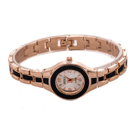 Wholesale elegant office lady quartz wristwatch colored alloy watch woman watch China factory supply online store WA