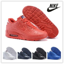Wholesale Nike air max VT Running Shoes America flag US Independence Day high quality max90 star trainers for men Sneakers Size40