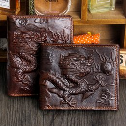Wholesale 2016 New pattern Man Genuine leather wallet in National Customs wallet really Loong wallet Quick sell currency source male fund wallet