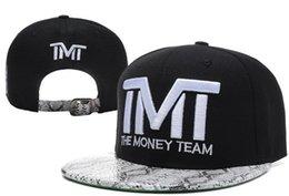 Wholesale 2015 Arrival Money Team Caps TMT Snapback Hats Men Women Hats Sports Caps Team Hats