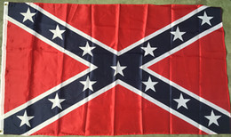 Confederate Battle Flags Printed Confederate Rebel Civil War Flag National Polyester Flags 8X5FT Free Shipping by DHL