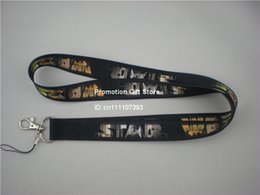 Wholesale Shipping 35PCS Lot Printed Star War Polyester Lanyard, Work ID Card Neck Strap, Custom Design Are Welcome