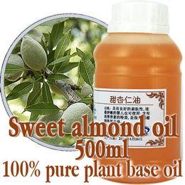 Wholesale skin care oil Free shopping100 pure plant base oil Sweet almond oil ml Vitamin moisturizing whitening Sensitive