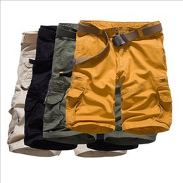 Wholesale Bermuda Sale Cotton Mens Shorts Summer New European And American Fashion Loose Big Yards Candy Colored Pants Overalls Men Shorts