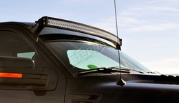 wholesale 4pcs - 288W curved light bar high power 4x4 off road Jeep Toyota Nissan ATV UTV combo radius led light bar