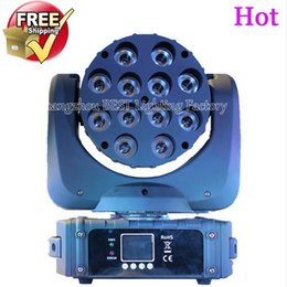 LED Beam Moving Head Light 12pcsx 12W RGBW Quad LED avec excellents Pragrams 11/15 Canaux à partir de rgbw conduit faisceau mobile de la tête fabricateur