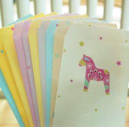 Wholesale Online Stores Animal Horse Printed Office Gift Envelopes Color Custom Stationery Envelope Supplies set ARC1149