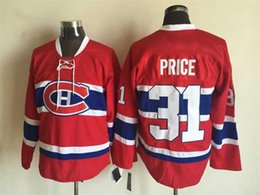 Wholesale Canadiens Carey Price Lace Hockey Jersey New Style Montreal Hockey Wear Men s Ice Hockey Jerseys Stitched Athletic Uniforms