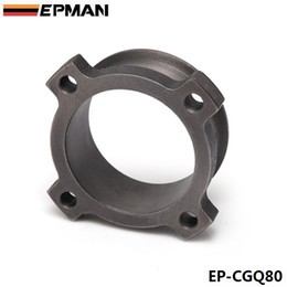 Wholesale EPMAN quot Bolt To quot V Band Adaptor Turbo Exhaust Flange T3 GT3582 GT35 Cast Flange Adaptor EP CGQ80